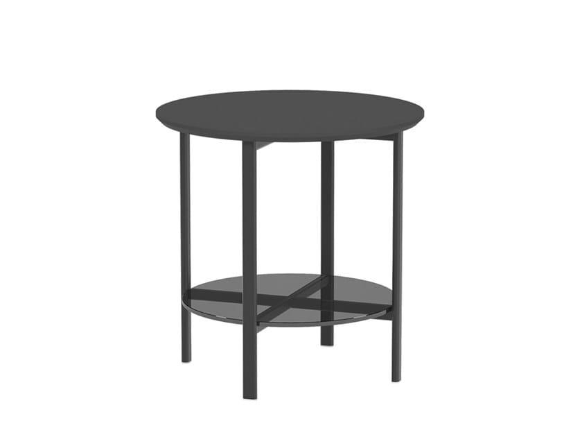 Tavolino laccato rotondo RUTA TABLE ME1932 by Andreu World