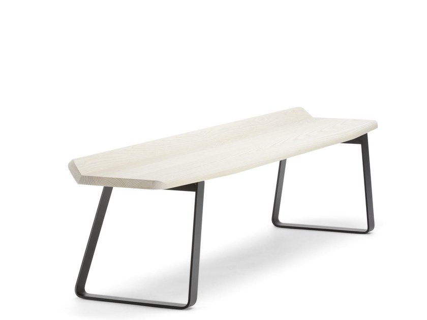Wooden bench S 1094 by THONET