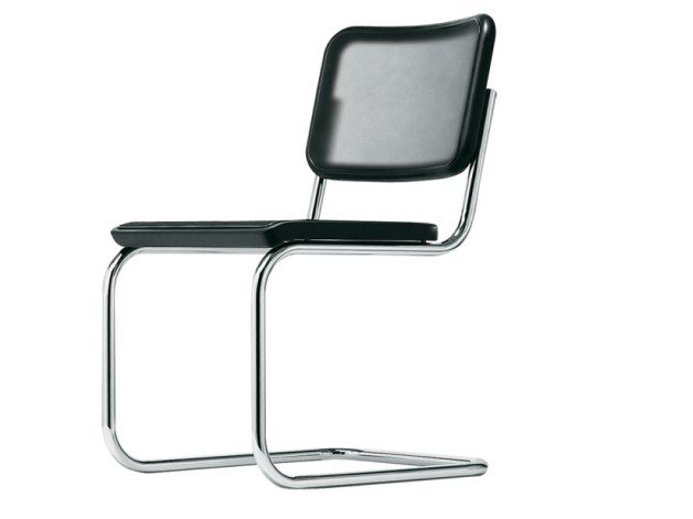 Cantilever mesh chair S 32 N by THONET