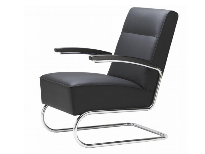 Cantilever high-back armchair S 412 by THONET