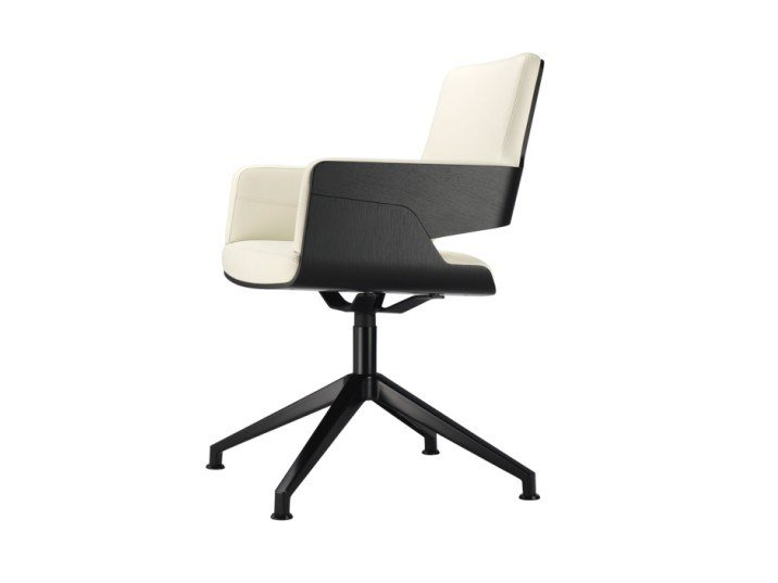 Chair with armrests S 847 D by THONET