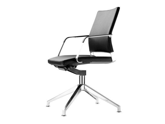 Swivel task chair with armrests S 95 PFDW by THONET