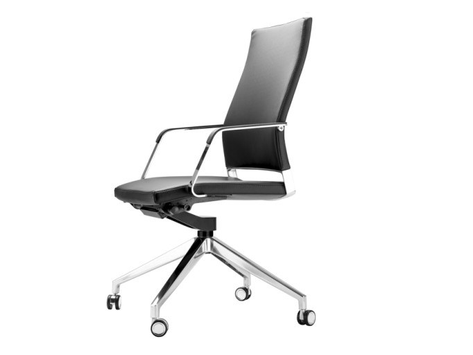 Task chair with casters S 96 PFRW by THONET