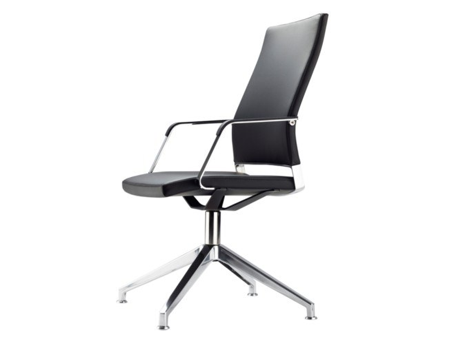 Swivel task chair with armrests S 96 PFD by THONET