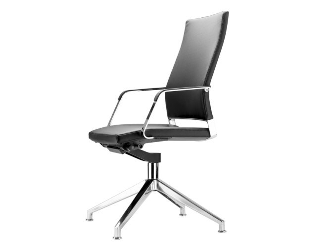 Swivel task chair with armrests S 96 PFDW by THONET