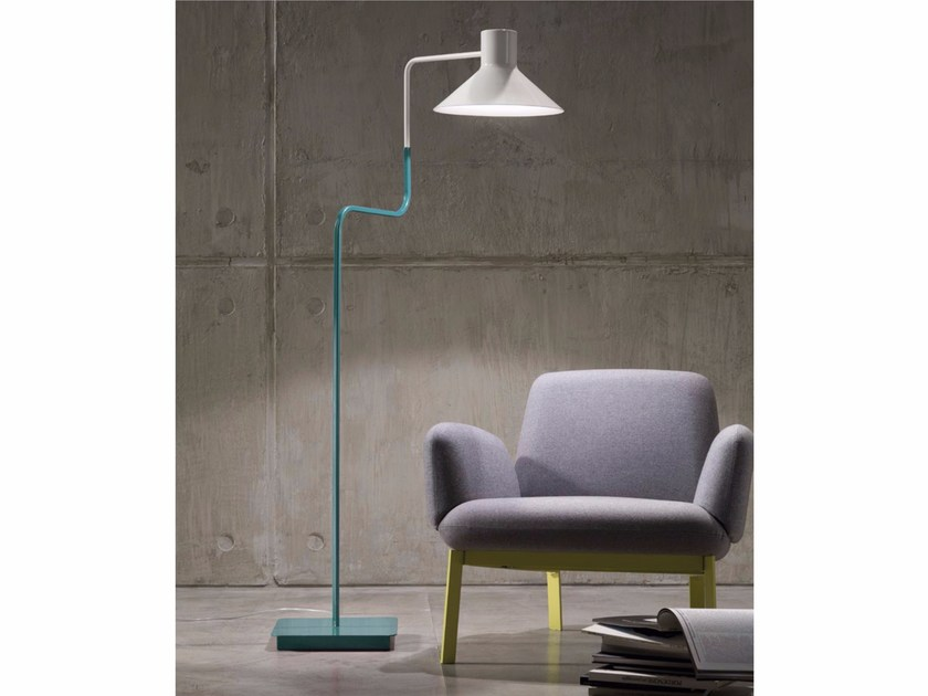 LED adjustable iron floor lamp SISTER | Iron floor lamp by ZAVA