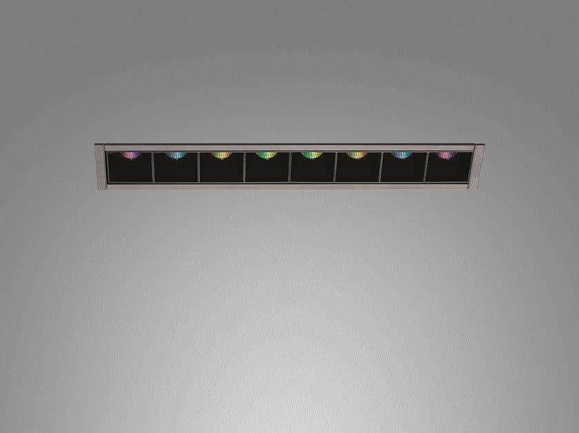 Multiple recessed RGB spotlight S. LOT | RGB spotlight by Artemide
