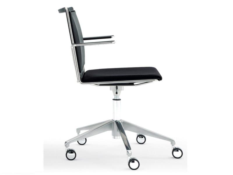 Smesh soft sedia ufficio operativa a 5 razze collezione smesh
