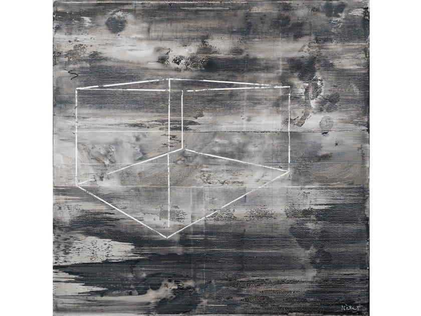 Canvas Painting S - perperctive by NOVOCUADRO ART COMPANY