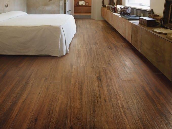 Ceramica Sant Agostino S Wood Prezzi.Pavimento In Gres Porcellanato Effetto Legno S Wood Brown