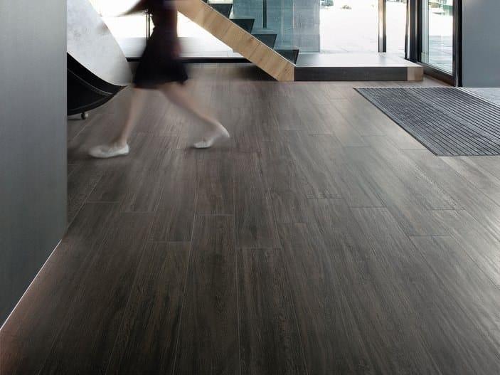 Ceramica Sant Agostino S Wood Prezzi.Pavimento In Gres Porcellanato Effetto Legno S Wood Black