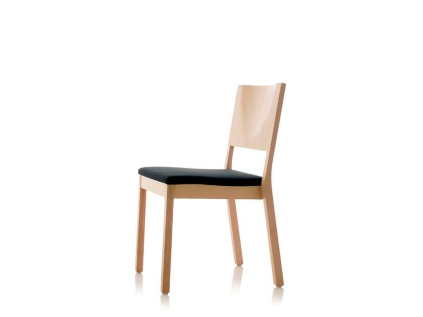 Sedia impilabile in legno S13 | Sedia by Wiesner-Hager
