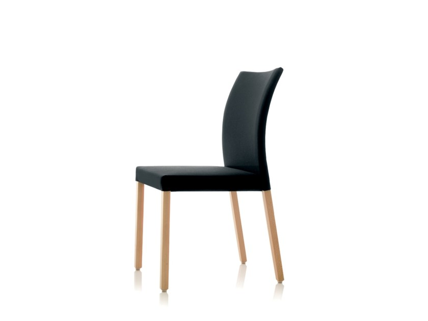 High-back fabric chair S15 | High-back chair by Wiesner-Hager