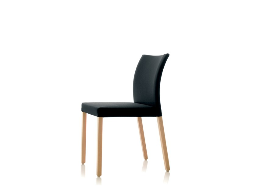 Stackable fabric chair S15 | Stackable chair by Wiesner-Hager