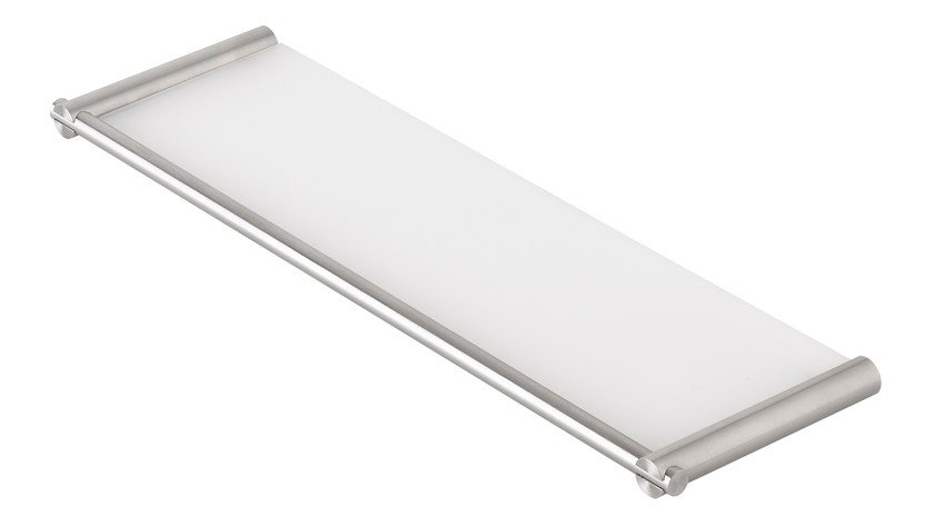 Wall-mounted stainless steel soap dish S22 A4.28 | Soap dish by Water Evolution