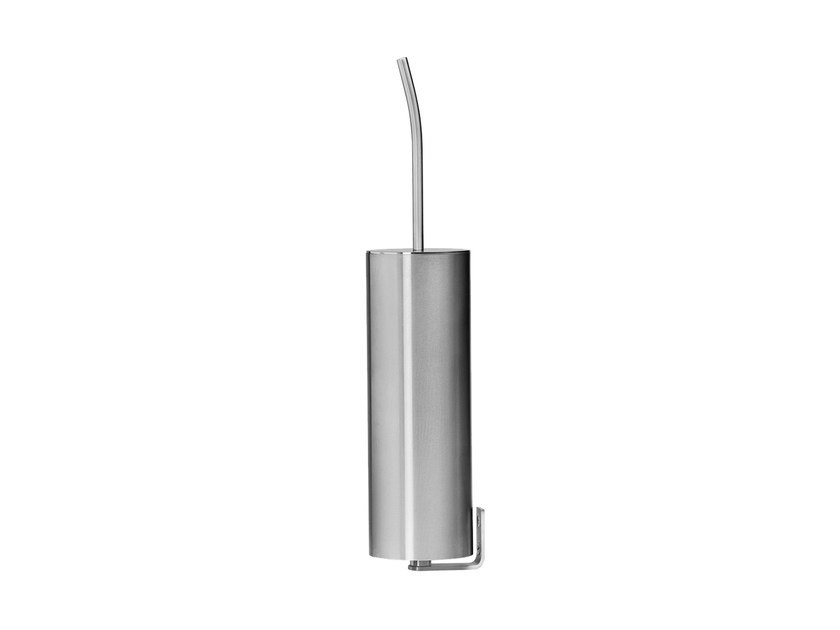 Wall-mounted stainless steel toilet brush S22 A4.41 by Water Evolution