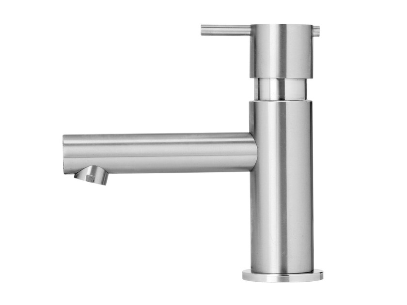 Stainless steel washbasin tap S22 T4.10 | Washbasin tap by Water Evolution