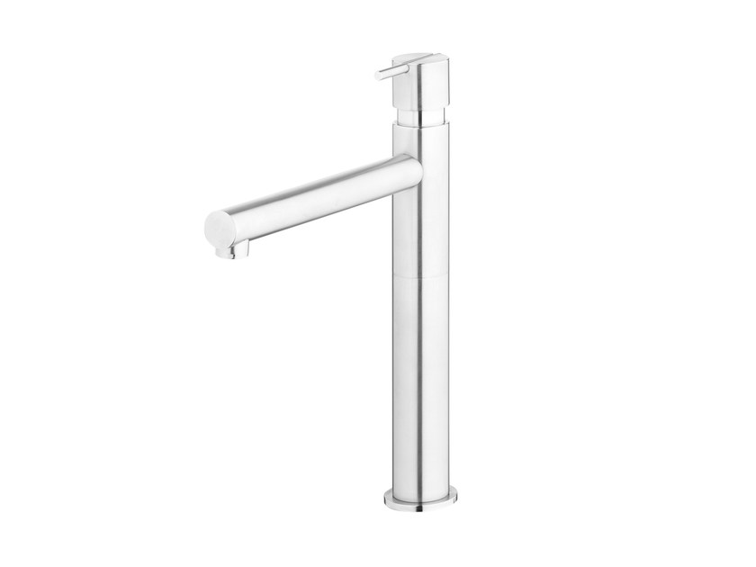 Stainless steel washbasin tap S22 T4.15 | Washbasin tap by Water Evolution