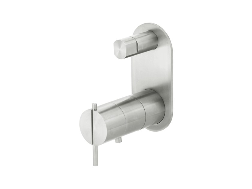 Wall-mounted bathtub / shower mixer S22 T4.36TB by Water Evolution