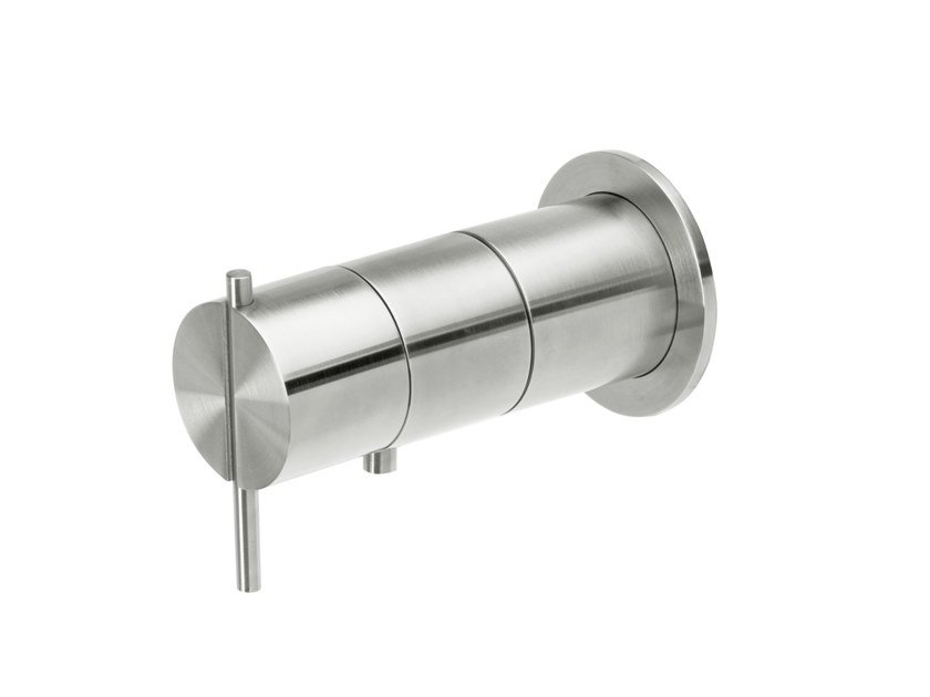 Wall-mounted bathtub / shower mixer S22 T4.42TB by Water Evolution