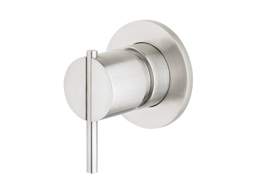 3 ways stainless steel diverter for shower for bathtub S22 T4.48.3S | Diverter by Water Evolution