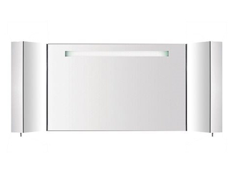 Wall-mounted bathroom mirror with cabinet S401740-S401860   Mirror by INDA®
