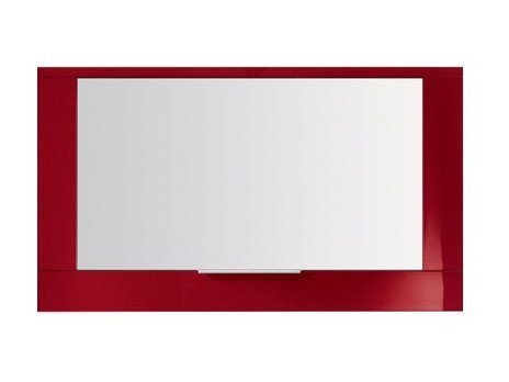 Wall-mounted bathroom mirror with cabinet S4510 | Mirror by INDA®