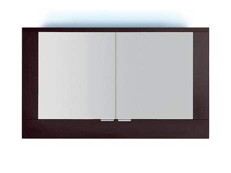 Wall-mounted bathroom mirror with integrated lighting S5520-553040 | Mirror by INDA®