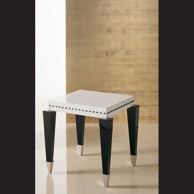 Low lacquered rectangular coffee table S80 | Coffee table by Rozzoni