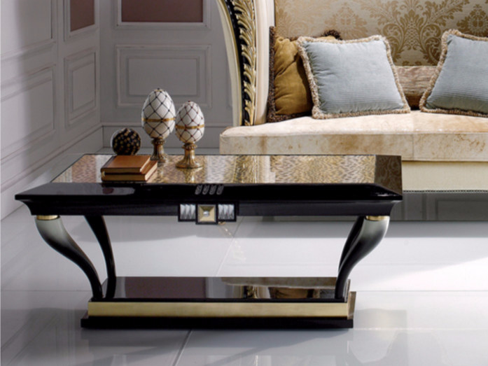 Low rectangular coffee table S99 | Coffee table by Rozzoni