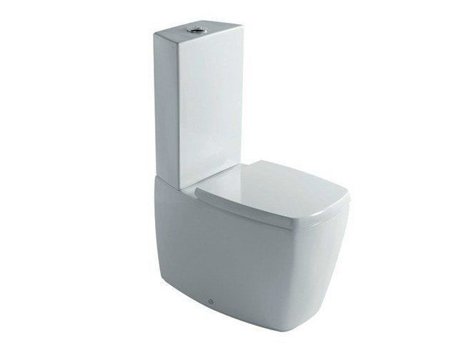 Close coupled ceramic toilet SA.02   Close coupled toilet by GALASSIA