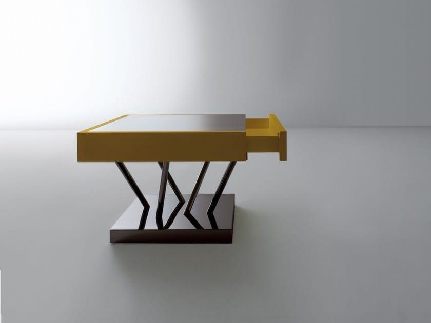 Square coffee table SA04 by Laurameroni