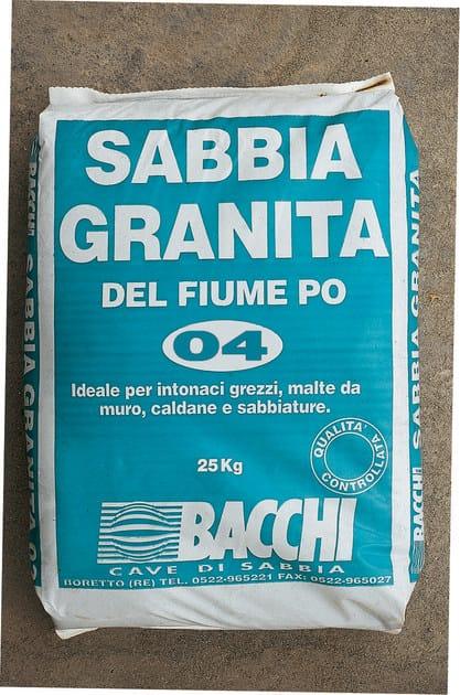 River sand SABBIA GRANITA by Bacchi