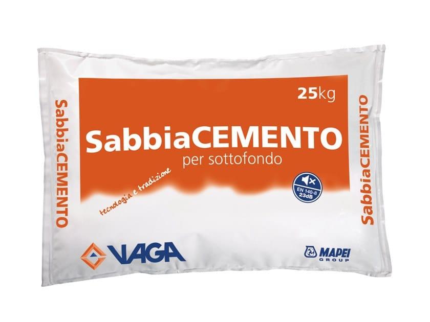 Pre-mixed screed SabbiaCEMENTO by VAGA