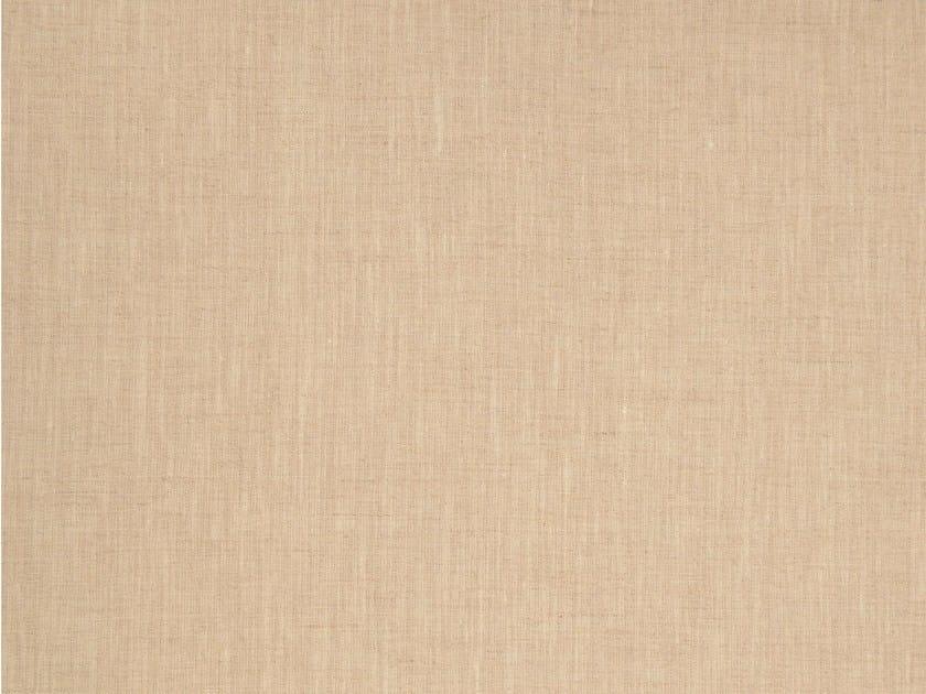 Solid-color linen fabric SABBIONETA by KOHRO