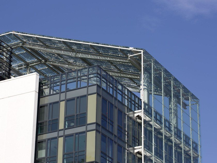 Stainless steel Anchorage system and profile for a facade SPIDER S3000 by Colcom Group