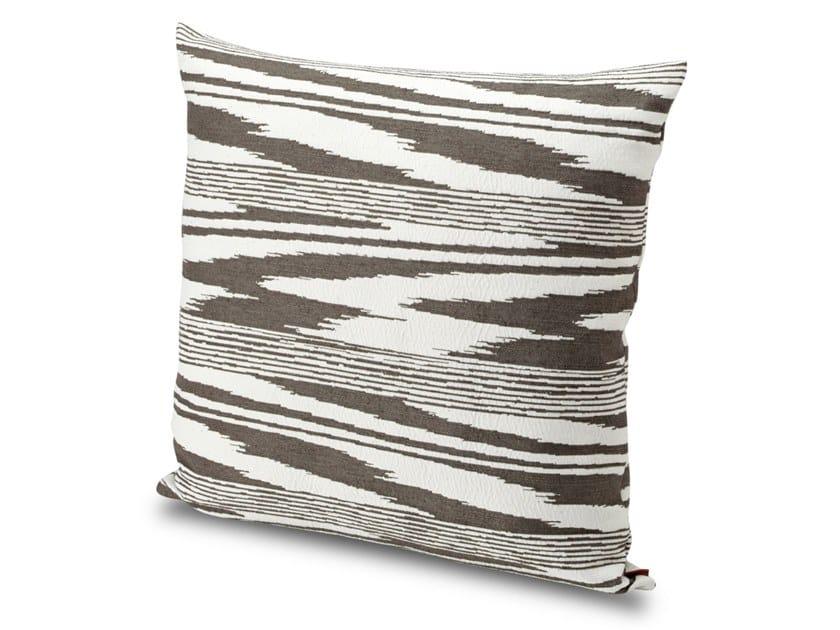 Cuscino in tessuto jacquard tinto in filo SAFI | Cuscino by MissoniHome