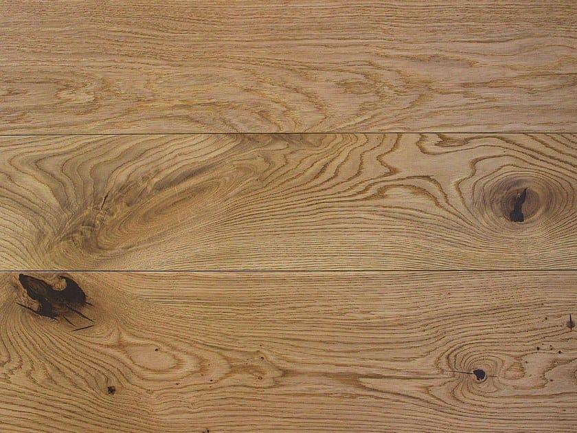 2 layers brushed oak parquet SAHARA by Lignum Venetia