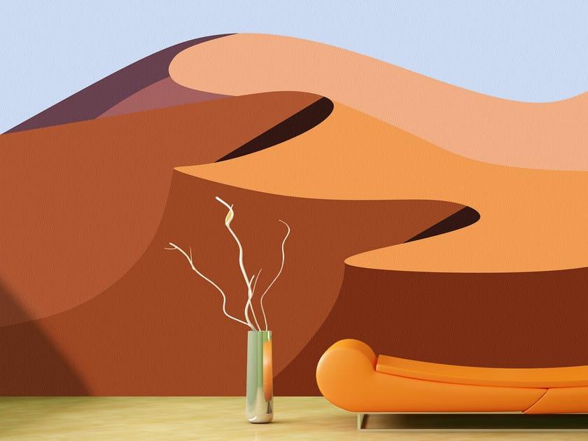 Panoramic landscape wallpaper SAHARA by Mat&Mat