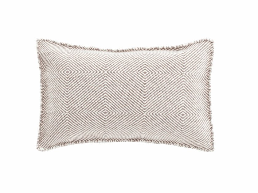 Rectangular wool cushion SAIL | Cushion by GAN