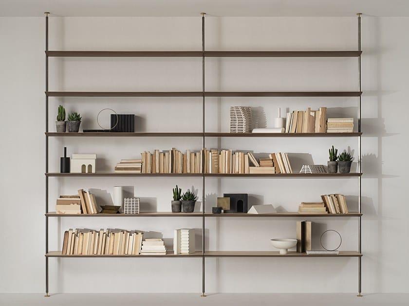 Libreria con fissaggio pavimento-soffitto SAILOR by Living Divani