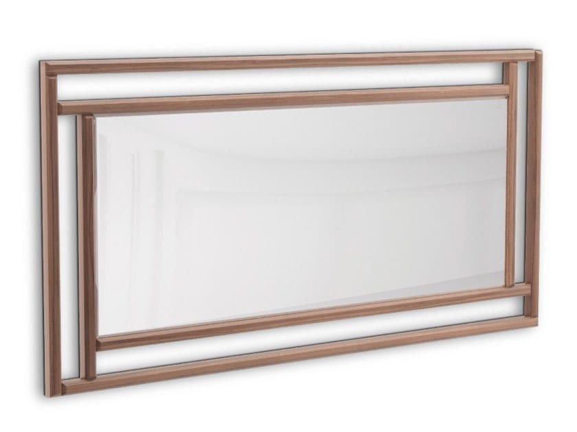 Rectangular framed wall-mounted mirror SAINT LOUIS | Rectangular mirror by PRADDY