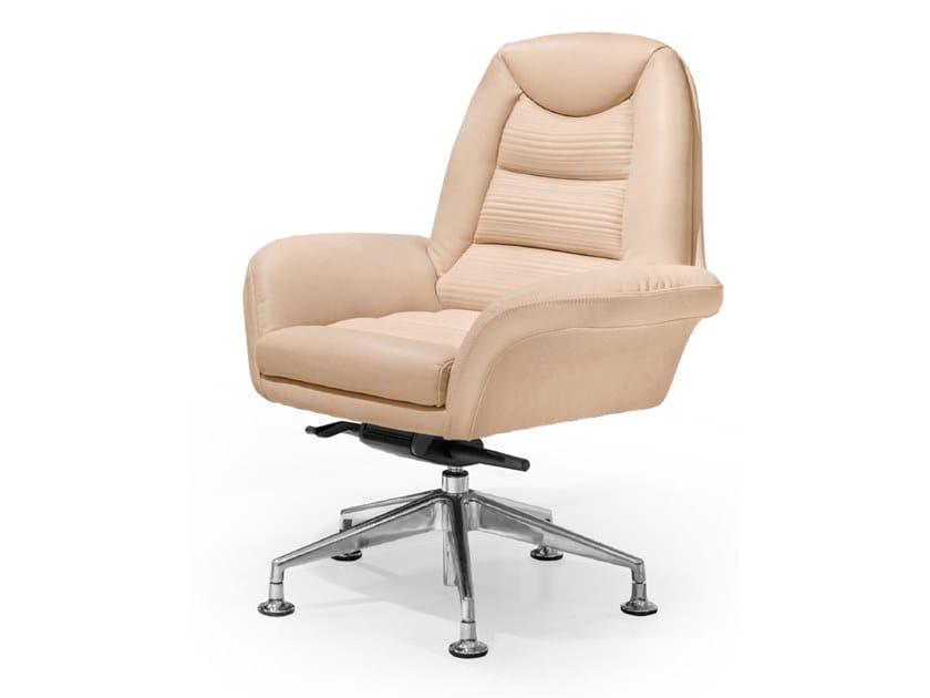 Leather executive chair SALAMANCA | Executive chair by Tonino Lamborghini Casa