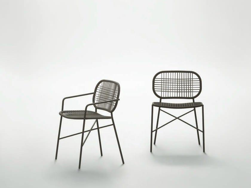 Synthetic fibre chair SALENTO by da a
