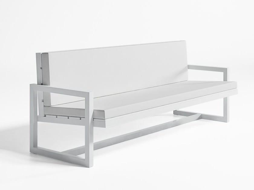 3 seater garden sofa SALER | 3 seater garden sofa by GANDIA BLASCO