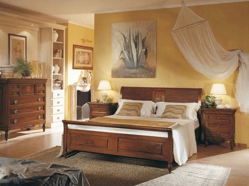 Solid wood double bed SALIERI | Solid wood bed by Arvestyle