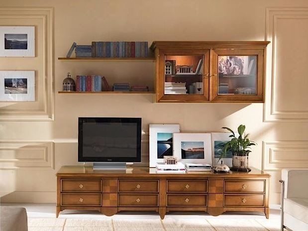 Sectional solid wood storage wall SALIERI | Storage wall by Arvestyle