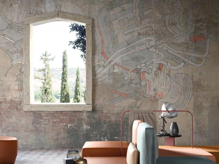Digital printing wallpaper SALISBURY DREAM by Tecnografica Italian Wallcoverings