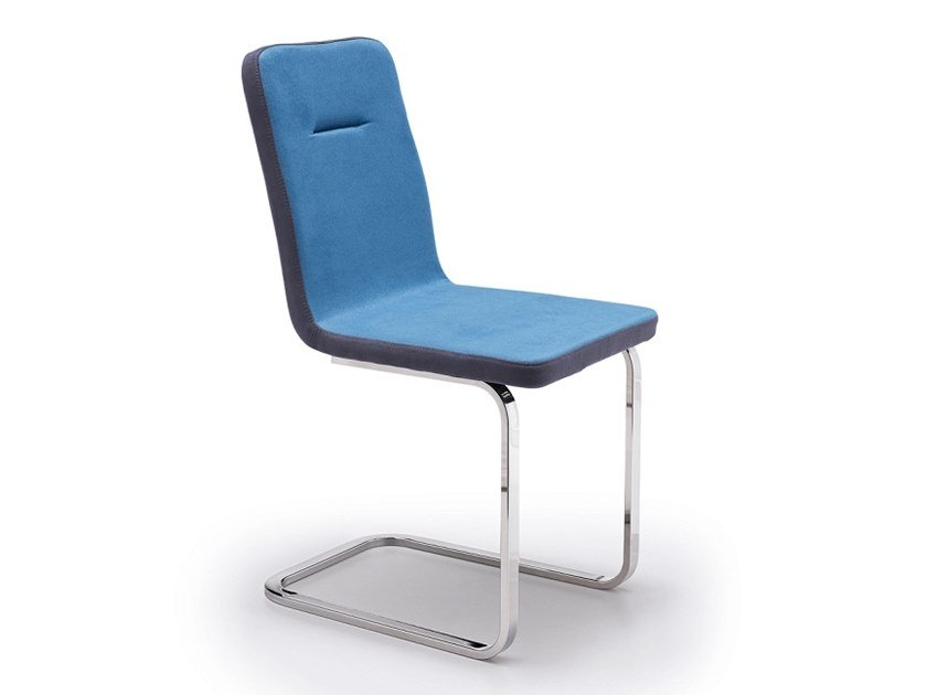 Cantilever upholstered chair SALLY | Cantilever chair by Natisa