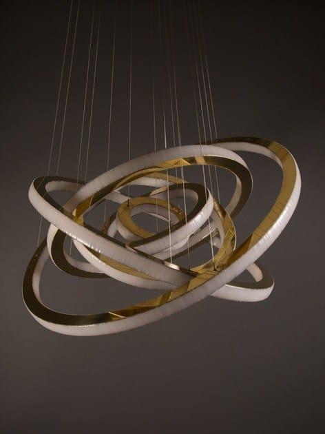 Metallo Led Salo Lunar Design In Dimmer Lampada House A Sospensione Con Cameron jAL54R